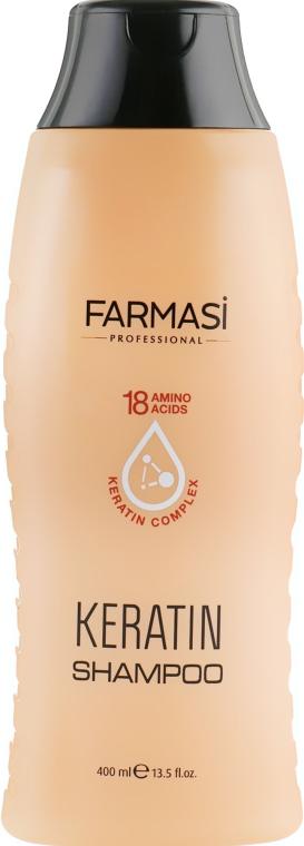 Шампунь для волос с кератином - Farmasi Keratin Therapy Repairing Shampoo