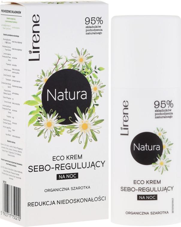 """Ночной крем для лица """"Эдельвейс"""" - Lirene Natura Eco Cream"""