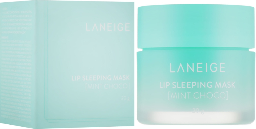 Ночная восстанавливающая маска для губ - Laneige Lip Sleeping Mask Mint Choco