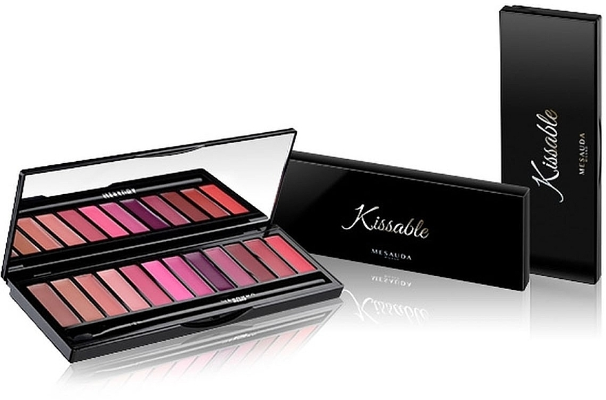 Палетка помад - Mesauda Milano Kissable Lip Palette