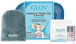 Духи, Парфюмерия, косметика Набор - Glov Expert Travel Set Dry Skin (glove/mini/1pcs + glove/1pcs + stick/40g)