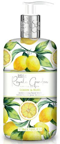 """Жидкое мыло для рук """"Лимон и базилик"""" - Baylis & Harding"""