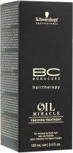 Масло для нормальных и жестких волос - Schwarzkopf Professional ВС Bonacure Oil Miracle Finishing — фото N3