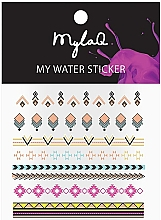 "Духи, Парфюмерия, косметика Наклейки для ногтей ""Ацтек"" - MylaQ My Aztek Sticker"