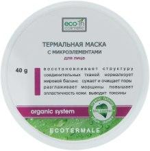 Духи, Парфюмерия, косметика Термальна маска з мікроелементами - Eco-in Cosmetic Organic System