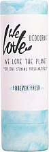 Духи, Парфюмерия, косметика Твёрдый дезодорант увлажняющий - We Love The Planet Forever Fresh Deodorant Stick