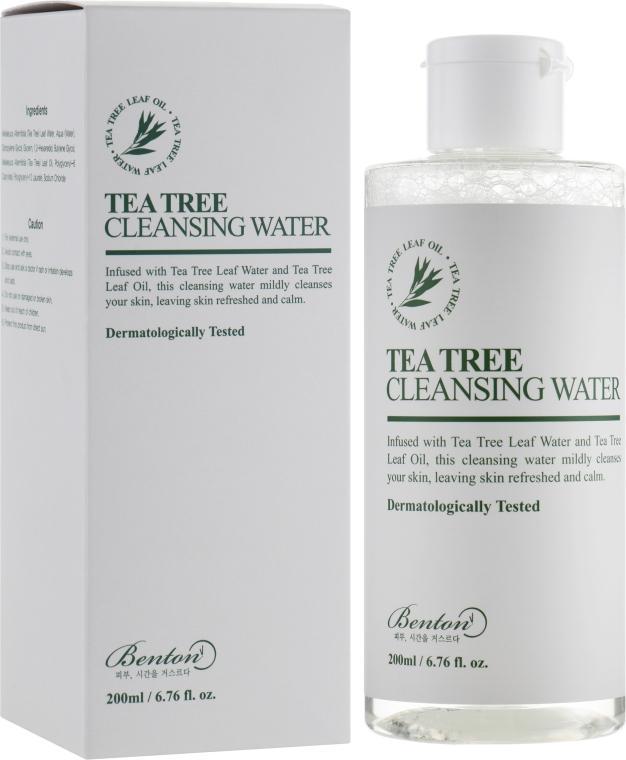 Очищающая вода с чайным деревом - Benton Tea Tree Cleansing Water