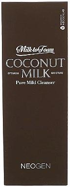 Очищающее кокосовое молочко для лица - Neogen Coconut Milk Pure Mild Cleanser — фото N2