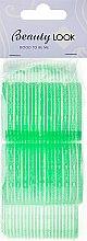 Духи, Парфюмерия, косметика Бигуди с липучкой, 499594 салатовые, 5шт - Beauty Look
