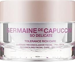 Духи, Парфюмерия, косметика Крем успокаивающий для сухой кожи - Germaine de Capuccini So Delicate Tolerance Rich Care
