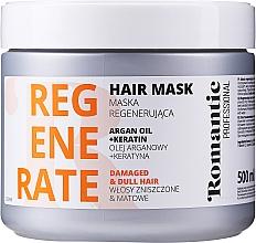 Духи, Парфюмерия, косметика Маска для поврежденных волос - Romantic Professional Helps to Regenerate Hair Mask