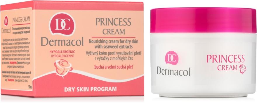 Крем питательный для сухой кожи с экстрактом морских водорослей - Dermacol Dry S.P. Princess Nourishing Cream