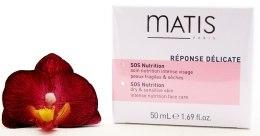 Крем питательный - Matis Reponse Delicate SOS Nutrition — фото N4