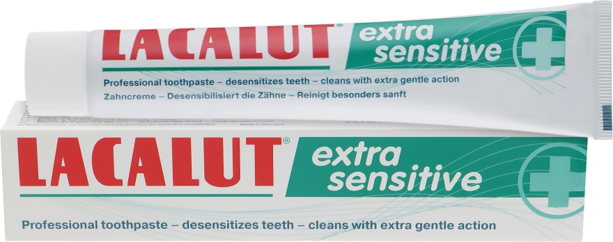 """Зубная паста """"Extra Sensitive"""" - Lacalut"""