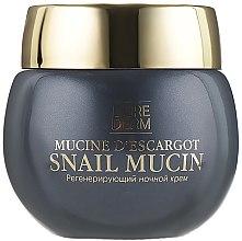 Регенерирующий ночной крем для лица с муцином улитки - Librederm Snail Mucin Regenerating Night Cream — фото N2