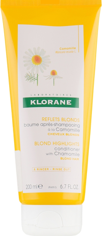 Кондиционер для волос - Klorane Blond Highlights Conditioner With Chamomile