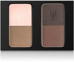 Духи, Парфюмерия, косметика Набор для макияжа бровей - Guerlain Eyebrow Kit (тестер без коробки)