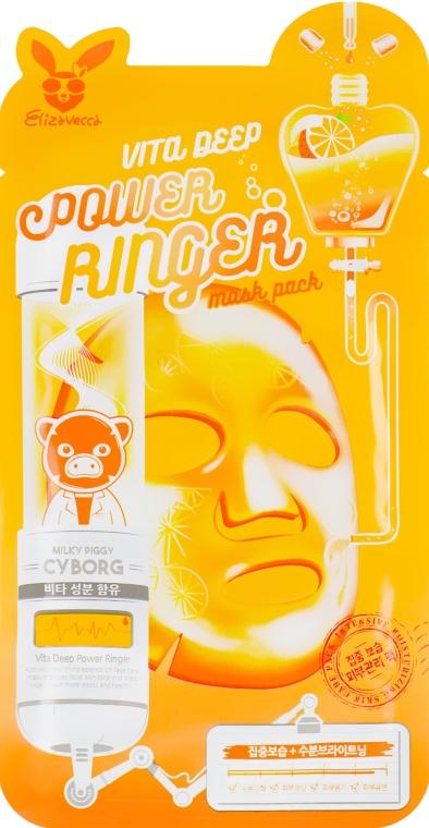 Маска питательная мгновенного действия - Elizavecca Face Care Vita Deep Power Reinger Mask Pack