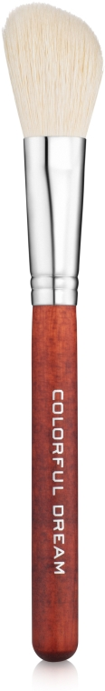 Кисть для нанесения румян и бронзера из ворса козы, W0170 - CTR