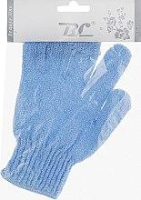 Духи, Парфюмерия, косметика Мочалка-перчатка банная, синяя - Beauty Line