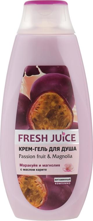 """Крем-гель для душа """"Сок Маракуйи и Магнолия"""" - Fresh Juice Brazilian Carnival Passion Fruit & Magnolia"""