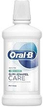 Духи, Парфюмерия, косметика Ополаскиватель для полости рта - Oral-B Gum & Enamel Care Fresh Mint Mouthwash