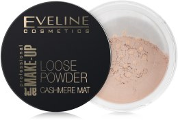 Парфумерія, косметика Eveline Loose Powder Cashmere Mat - Матуюча Розсипчаста Пудра