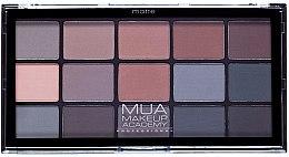 Духи, Парфюмерия, косметика Палетка теней для век - MUA 15 Shade Eyeshadow Palette