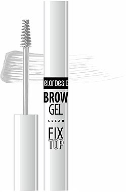 Фиксатор для бровей - Belor Design Brow Clear Gel Fix Top