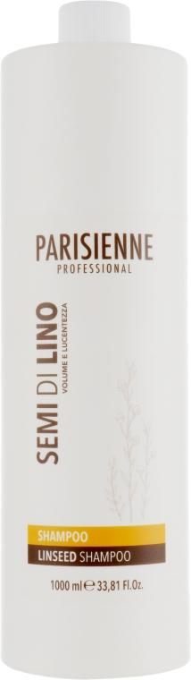 Деликатный шампунь для любого типа волос с экстрактом семян льна - Parisienne Italia Evelon Semi Di Lino Shampoo