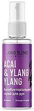 Духи, Парфюмерия, косметика Антисептик-спрей для рук - Joko Blend Acai & Ylang Ylang