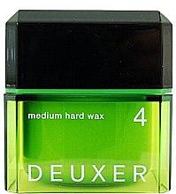Духи, Парфюмерия, косметика Воск для волос - Lebel Deuxer Medium Hard Wax 4