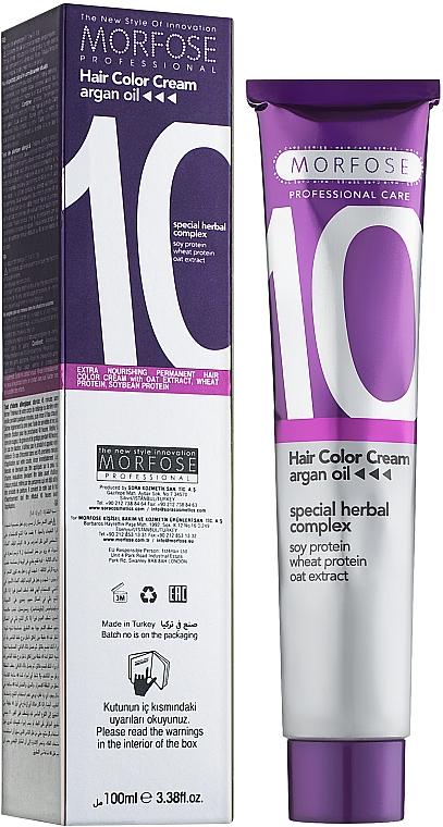 Краска для волос - Morfose 10 Hair Color Cream