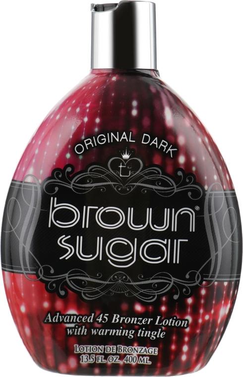 Крем для загара в солярии со средними бронзантами и разогревающим эффектом - Brown Sugar Original Brown Sugar 45X