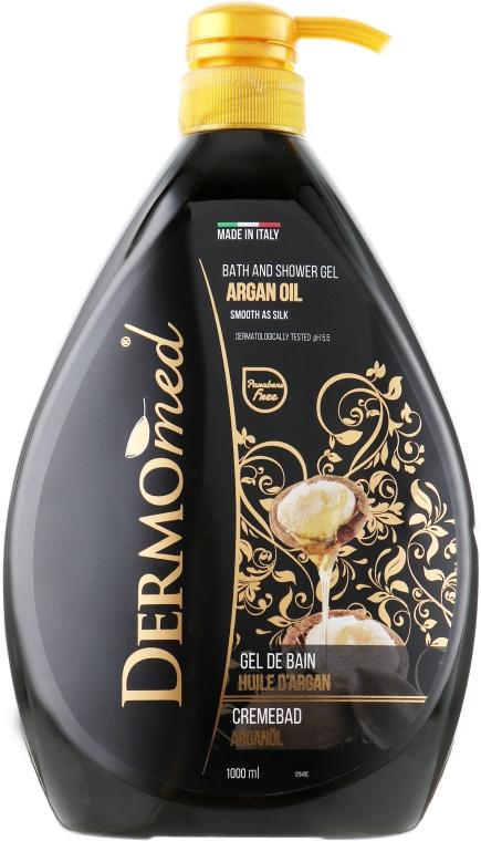 "Гель для душа и ванны ""Аргановое масло"" - Dermomed Bath And Shower Gel Argan Oil"