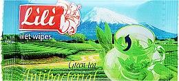 Духи, Парфюмерия, косметика Влажные салфетки с ароматом зеленого чая - Lili