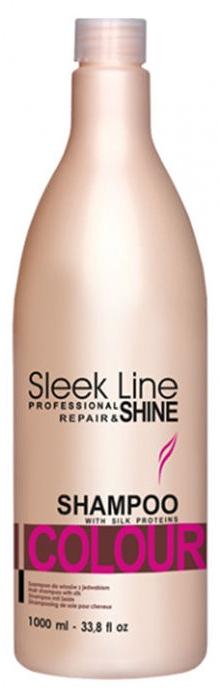 Шампунь для окрашенных волос - Stapiz Sleek Line Colour Shampoo