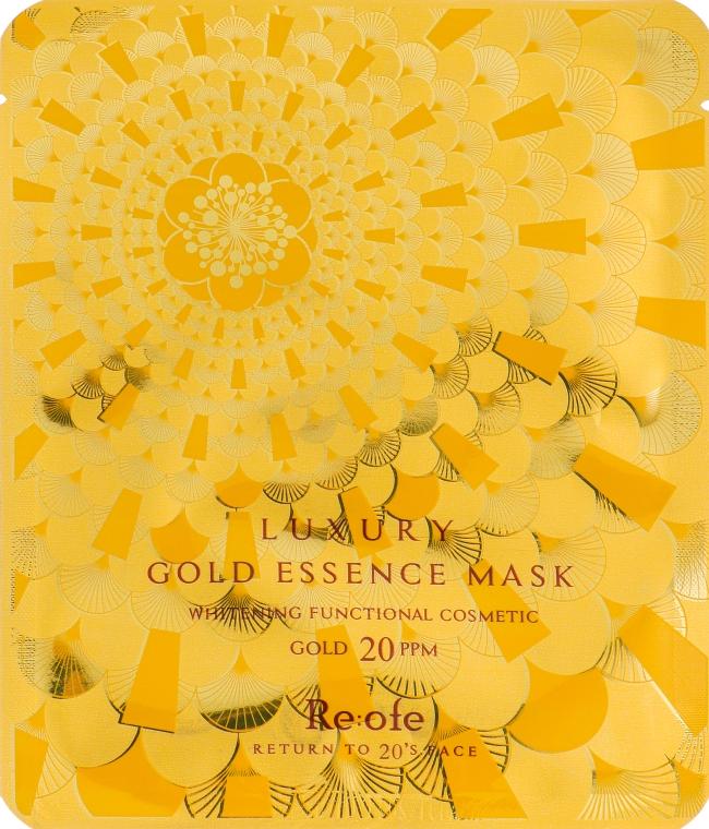 Золотая тканевая маска для лица - Esfolio Re:ofe Luxury Gold Essence Mask