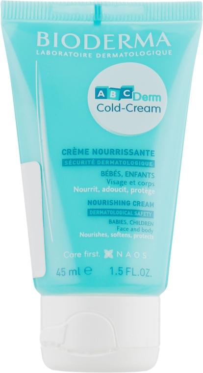 Крем для лица и тела - Bioderma ABCDerm Cold-Cream Nourishing Face And Body Cream