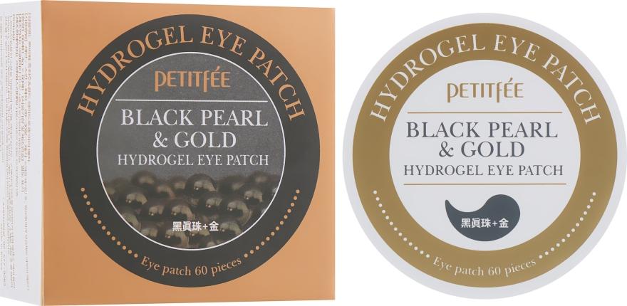 Гидрогелевые патчи для глаз с золотом и черным жемчугом - Petitfee&Koelf Black Pearl&Gold Hydrogel Eye Patch