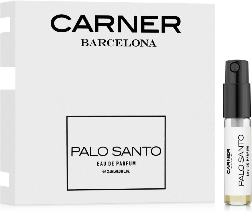 Carner Barcelona Palo Santo - Парфюмированная вода (пробник) — фото N1
