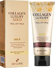 Духи, Парфюмерия, косметика Золотая маска-пленка - 3w Clinic Collagen & Luxury Gold Peel Off Pack