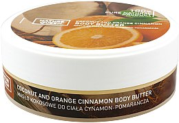 Духи, Парфюмерия, косметика Кокосовое масло для тела с корицей и экстрактом апельсина - Nature Queen Body Butter