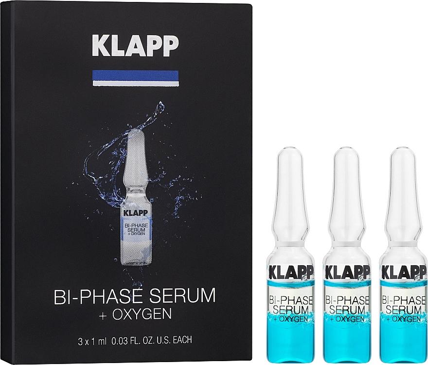 """Двухфазная сыворотка """"Кислород"""" - Klapp Bi-Phase Serum Oxygen"""