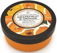 """Духи, Парфюмерия, косметика Крем для тела """"Грейпфрут и апельсин"""" - Tropical Fruits Body Cream"""
