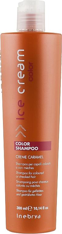 Шампунь для окрашенных и мелированных волос - Inebrya Ice Cream Color Shampoo Creme Caramel