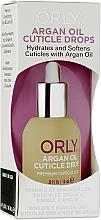 Духи, Парфюмерия, косметика Масло для кутикулы - Orly Argan Oil Cuticle Drops Premium Cuticle Care