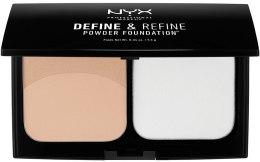 Духи, Парфюмерия, косметика Компактная двойная пудра - NYX Professional Makeup Define Refine Powder Foundation
