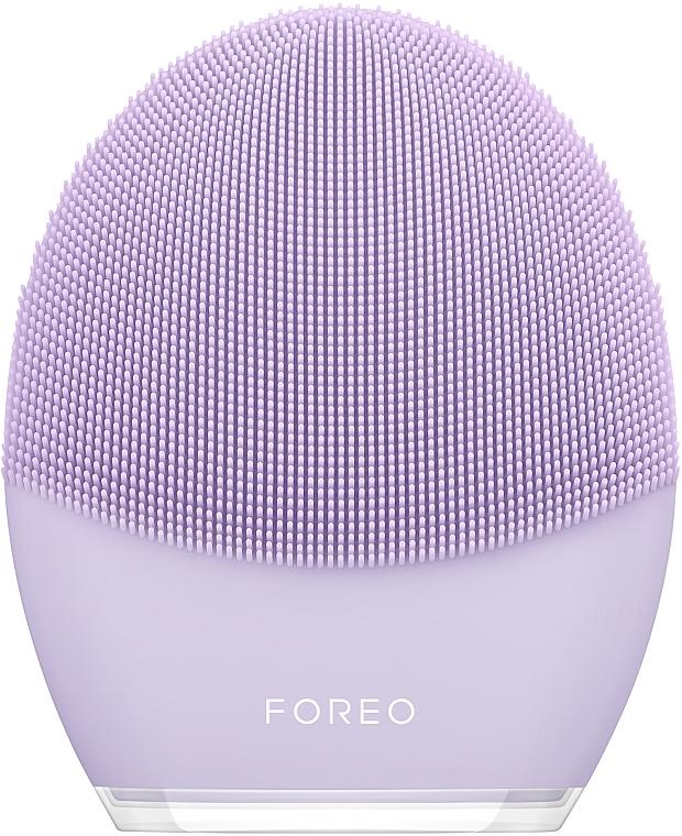 Щетка для очищения и антивозрастного массажа лица LUNA 3 для чувствительной кожи - Foreo Luna 3 Sonic Facial Cleanser and Anti-Aging Massager for Sensitive Skin