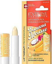 "Духи, Парфюмерия, косметика Бальзам для губ ""Банановый мусс"" - Eveline Cosmetics Lip Therapy Smoothing Balm Banana Mousse"